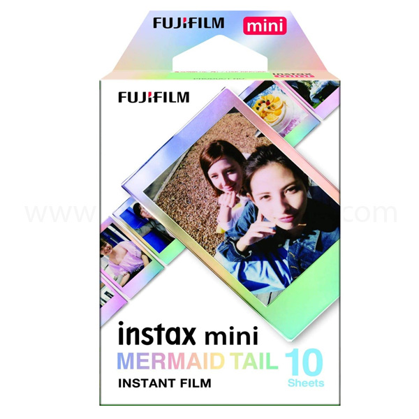 Fujifilm Instax Mini film 10 sheets (Mermaid Tail) INSTAXMINI10-MTAIL