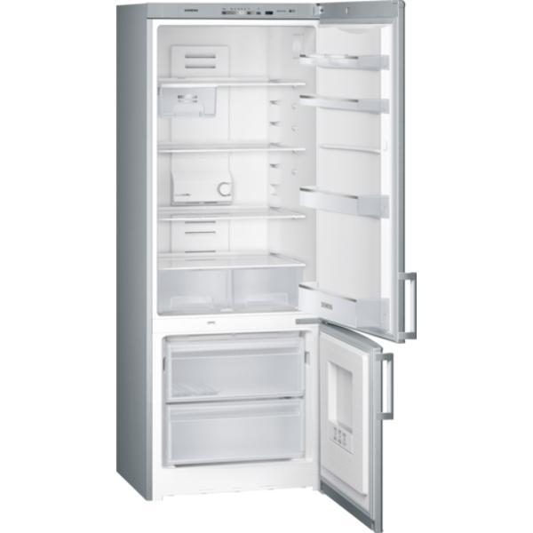 Siemens 505L iQ300 noFrost, Bottom freezer Door color Inox-look (KG57NVL20M)