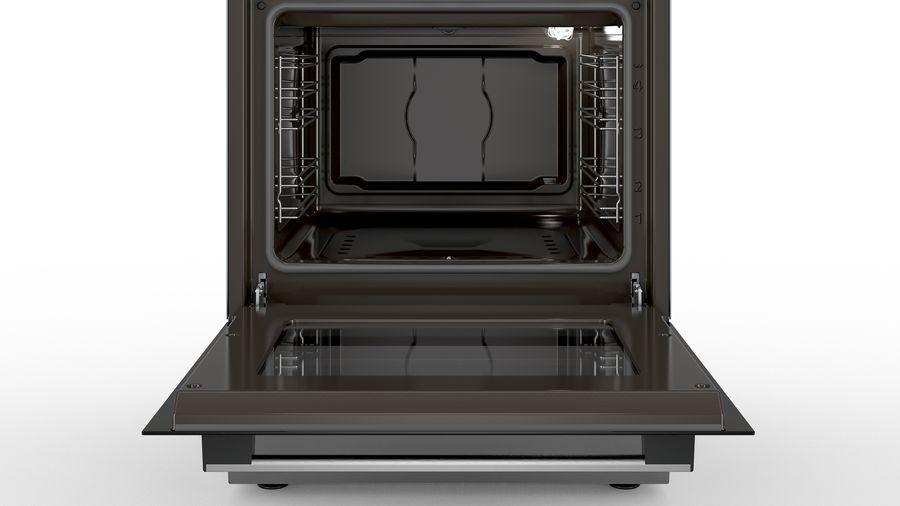 Bosch Serie free standing gas cookerStainless steel HGA120B51M
