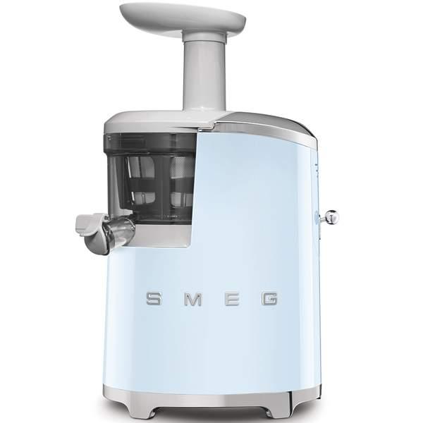 Smeg 50's Retro Style Aesthetic Slow Juicer, Pastel Blue (SJF01PBUK)