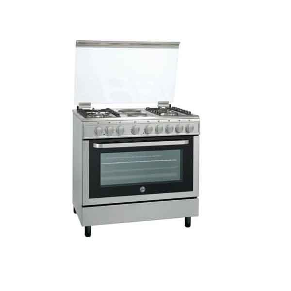 Hoover 4 Gas Burners + 2 Hot Plate Cooker (FGC9042-3DEX)