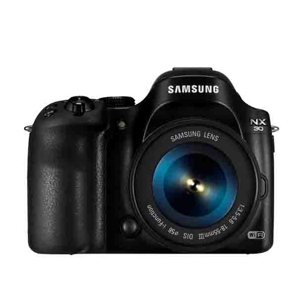 Samsung NX30 with 18-55mm lens (NX30BK)