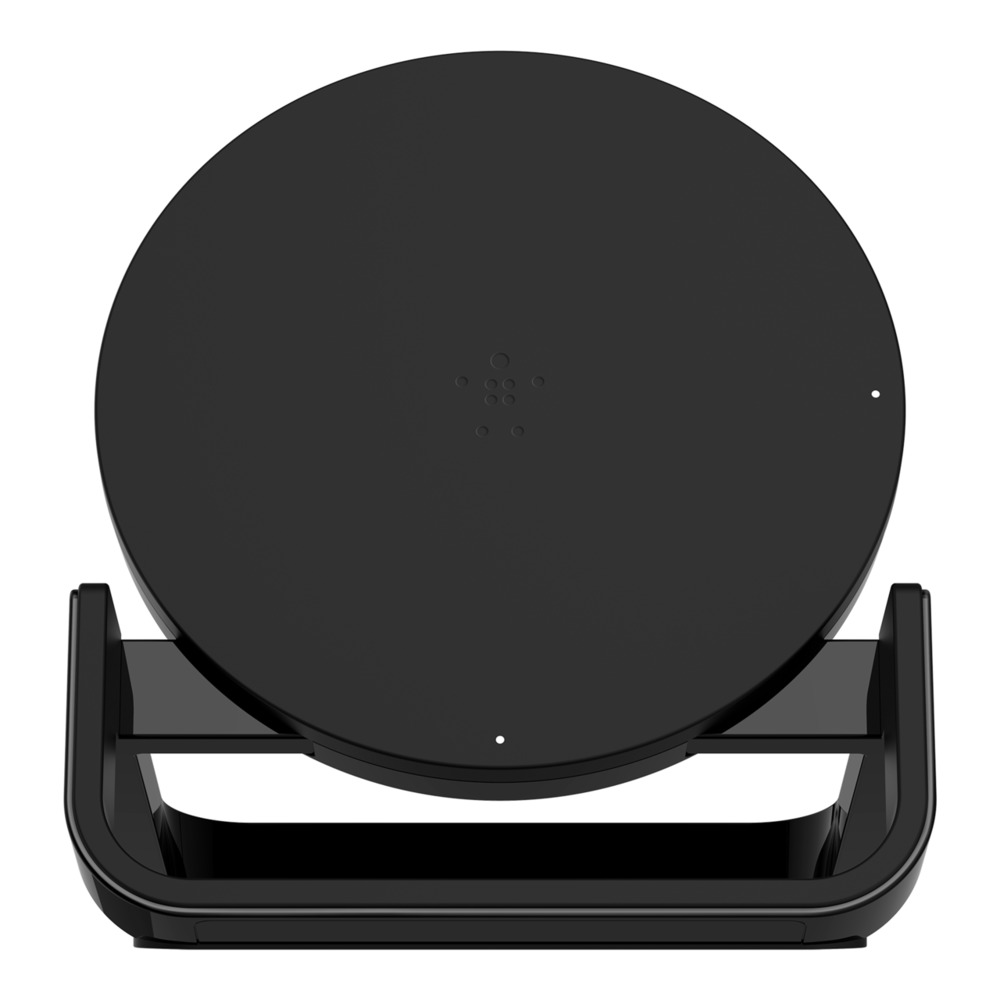 BELKIN 15W SUPERFAST WIRELESS CHARGING PAD WITH PSU, BLACK F7U014drSLV