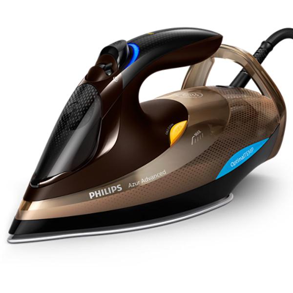 Philips Azur Advanced Steam Iron With OpticalTEMP  Technology (GC4936)