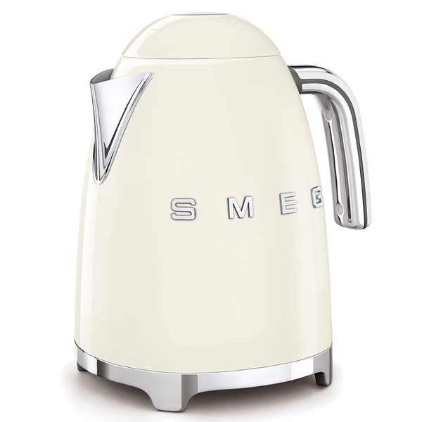 SMEG Kettle Cream,50's Retro Style Aesthetic (KLF03CRUK)