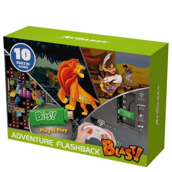 ATARI ADVENTURE FLASHBACK BLAST! W/ 10 BUILT-IN GAMES (WD3308)