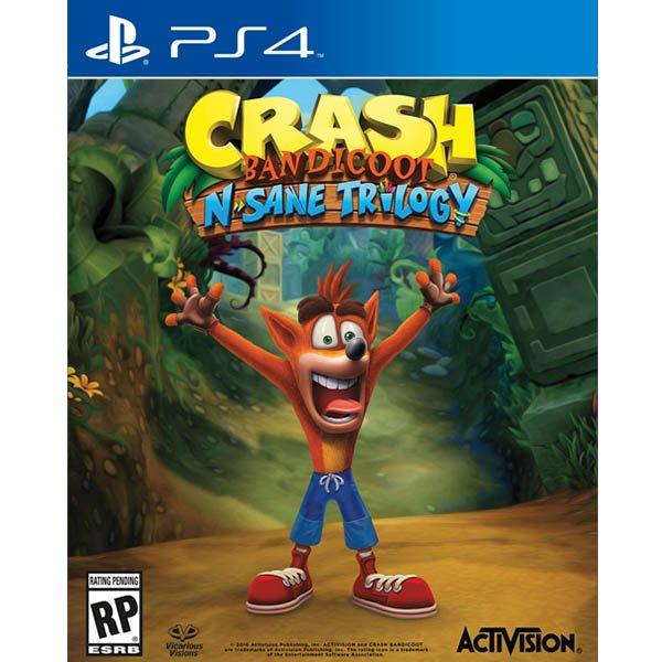 Sony PS4 Crash Bandicoot N Sane Trilogy (CD17067)