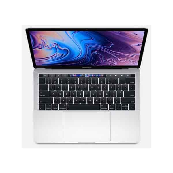 Apple MacBook Pro 13-inch  with Touch Bar 1.4GHz quad-core 8th-generation Intel Core i5 processor, 256GB - Silver (MUHR2AB/A) Arabic Keyboard