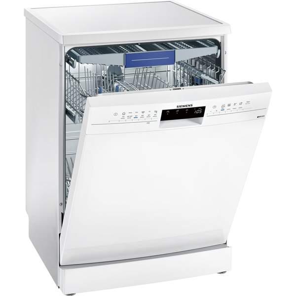 Siemens Freestanding Dishwasher, 13 Place Settings, White (SN236W10MM)