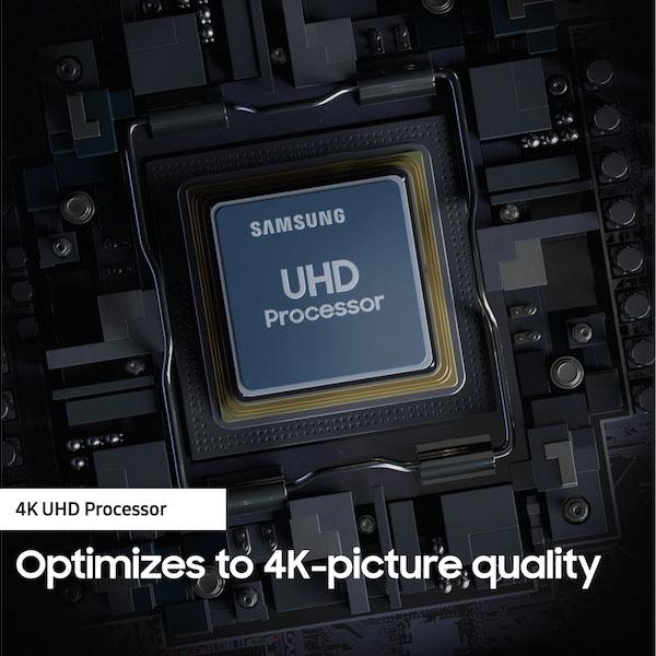 "Samsung - Series 7 65"" RU7100 4K UHD TV (UA65RU7100KXZN)"
