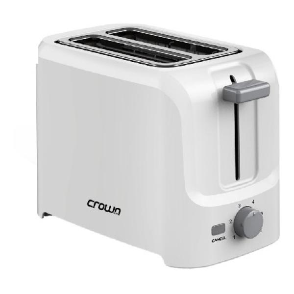 Crownline 2 Slices Plastic Toaster (TR205)