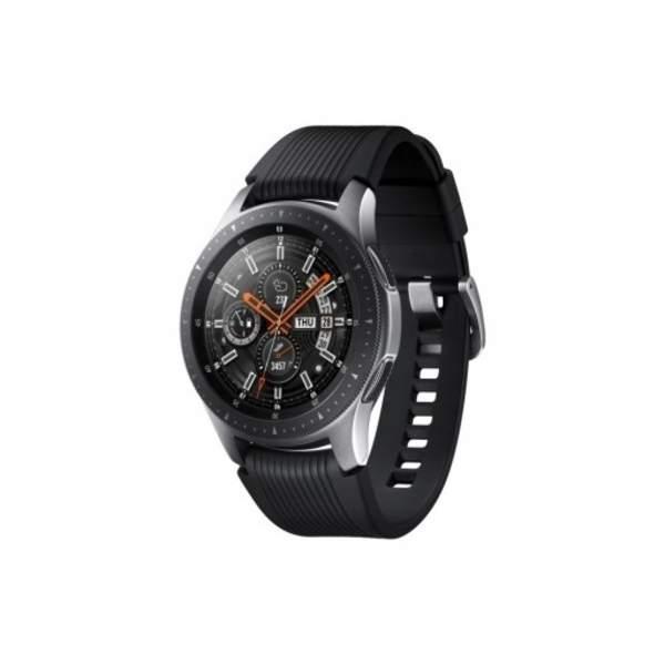 Samsung Galaxy Watch 1.3 Inch, Black - Silver (SM-R800N-BK)