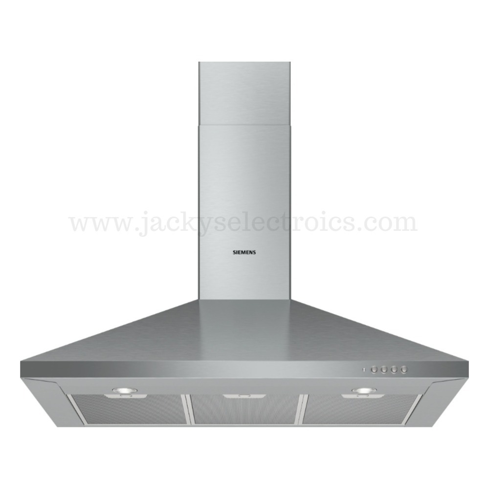 Siemens iQ100 wall-mounted cooker hood 90 cm Stainless steel LC94PCC50M