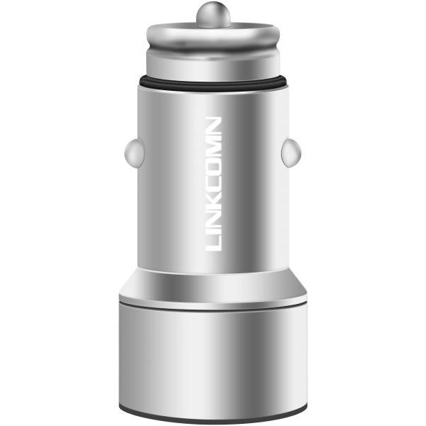 Linkcomn Car charger - Silver (KCC32)