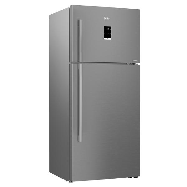Beko 611 Liter Top Mount Refrigerator, No Frost, Dual Cooling Technology (RDNE710E21ZP)