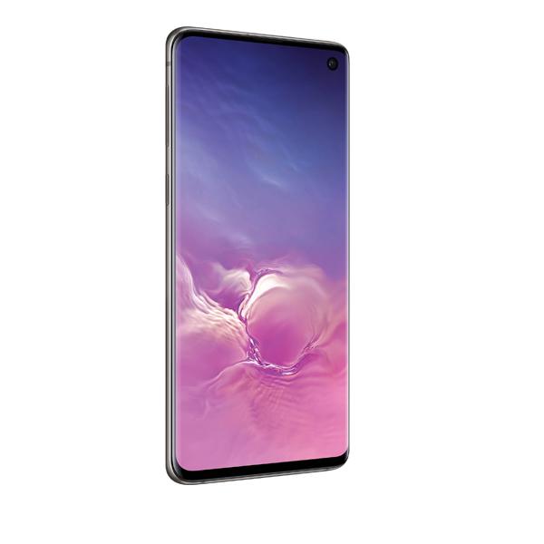Samsung S10 128GB Octa Core 2.7GHz-2.3GHz-1.9GHz Black (SMG973FW-128GBB)