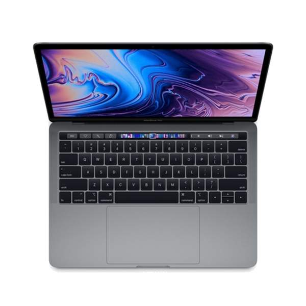 Apple Macbook Pro with Touch Bar, 8th Gen 2018, 13.3 Inch, Intel Core i5, 2.3GHz, 8GB RAM, 512GB SSD, Space Grey (MR9R2-EC)