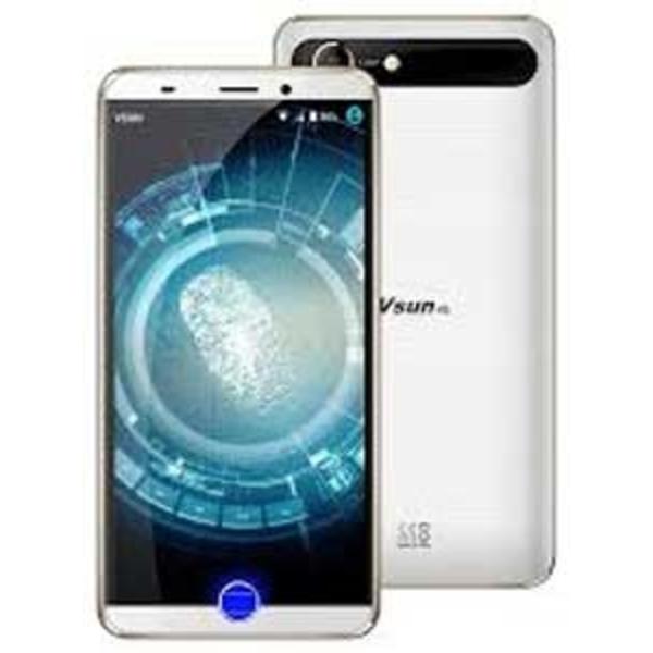 Vsun Touch Smartphone with Fingerprint Sensor, White (VTOUCHW-W)