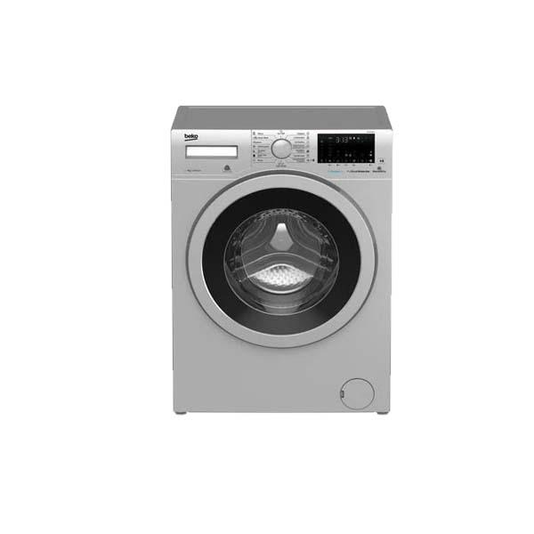 Beko Free Standing Washing Machine 7kg, 1400 RPM, 15 programs, 4star energy rating, Silver (WTV7736XS)