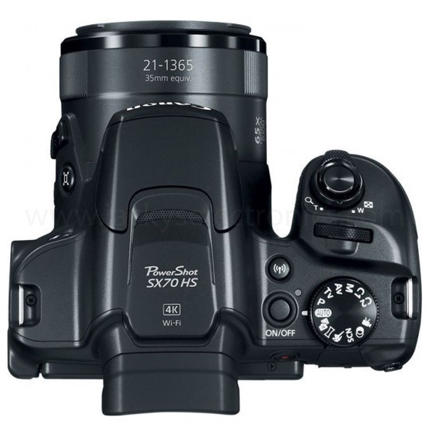 Powershot SX70 HS Black (PSSX70HSBK)