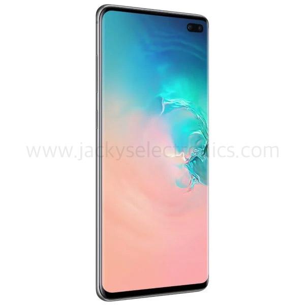 Samsung Galaxy S10 Plus Dual SIM Silver 8GB RAM 128GB 4G LTE (SMG975FW-128GBSL)