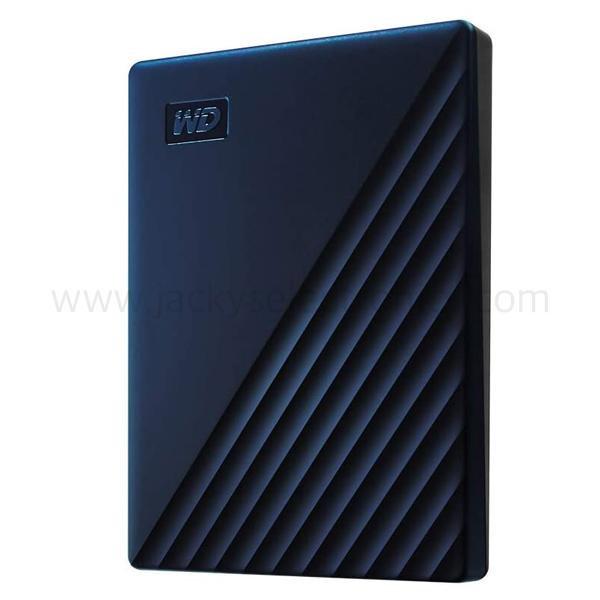 WD MY PASSPORT FOR MAC 4TB BLUE WORLDWIDE (WDBA2F0040BBL-WESN)