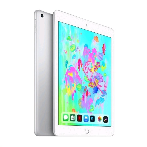 Applke iPad 6th Gen (2018) WiFi + Cellular 32GB - Silver (MR6P2AE/A)