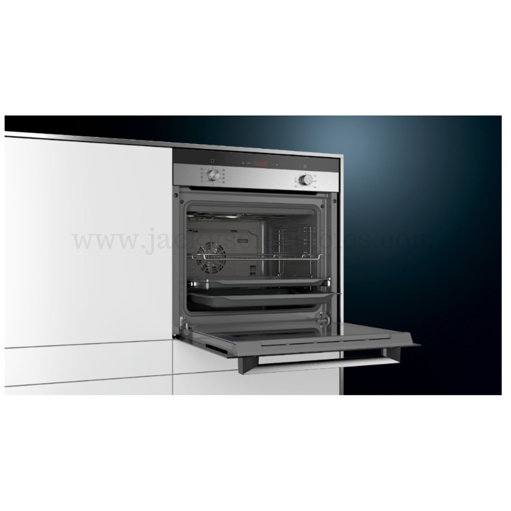 Siemens iQ300 built-in oven Stainless steel HB134JES0M