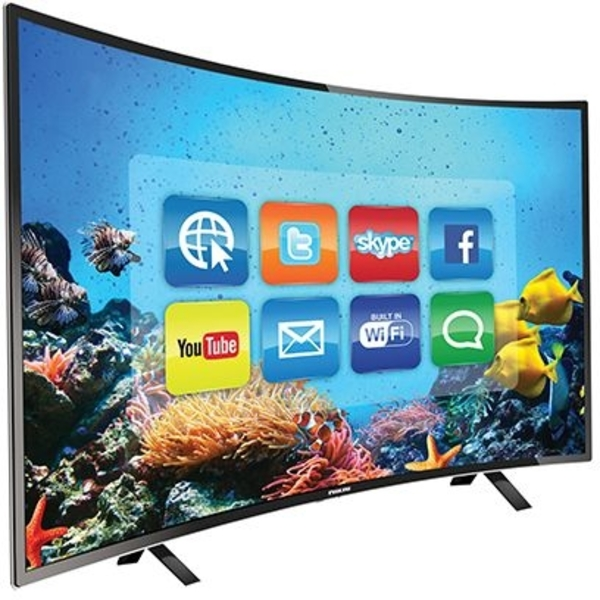 Nikai 40 Inch Smart Curve LED TV - NTV4000CSLED