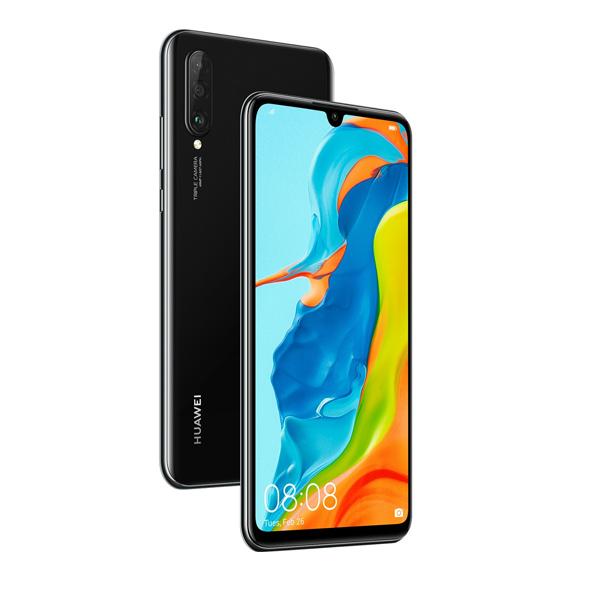 HUAWEI P30 Lite Dual SIM Midnight Black 128GB 6GB RAM 4G LTE (P30LITE128-BLK-EC)