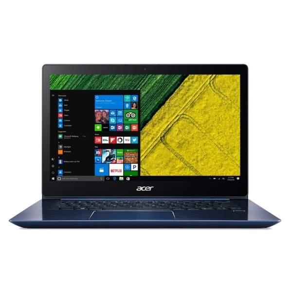 Acer Swift 3 Laptop - Intel Core i7-8550U, 14-Inch FHD, 256GB SSD, 8GB RAM, 2GB VGA-MX150, Windows 10 Home, Stellar Blue (SF314-52G-88VG)