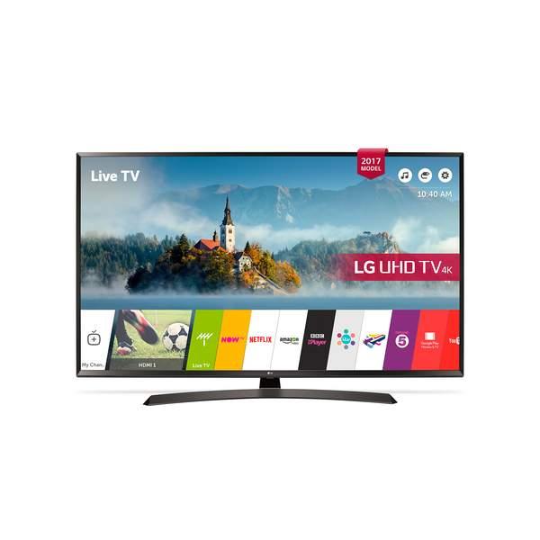 LG 60 Inch Ultra HD 4K TV (60UJ634V)