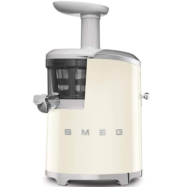 Smeg 50's Retro Style Aesthetic Slow Juicer, Cream (SJF01CRUK)