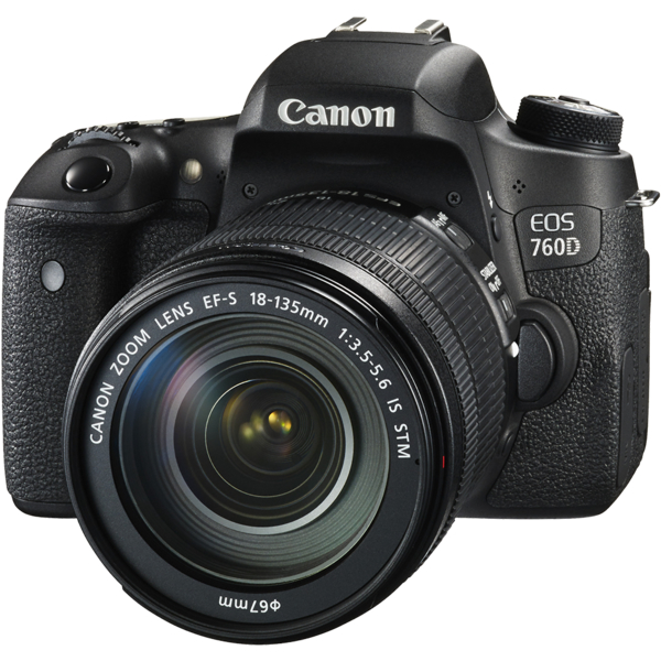 Canon EOS760D DSLR Camera 18-135mm (EOS760DKIT)