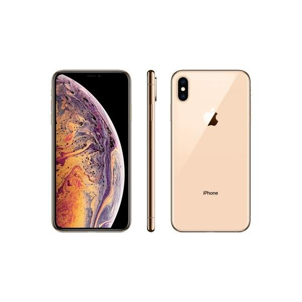 Apple iPhone Xs 512GB Smartphone, Gold (MT9N2AE/A)