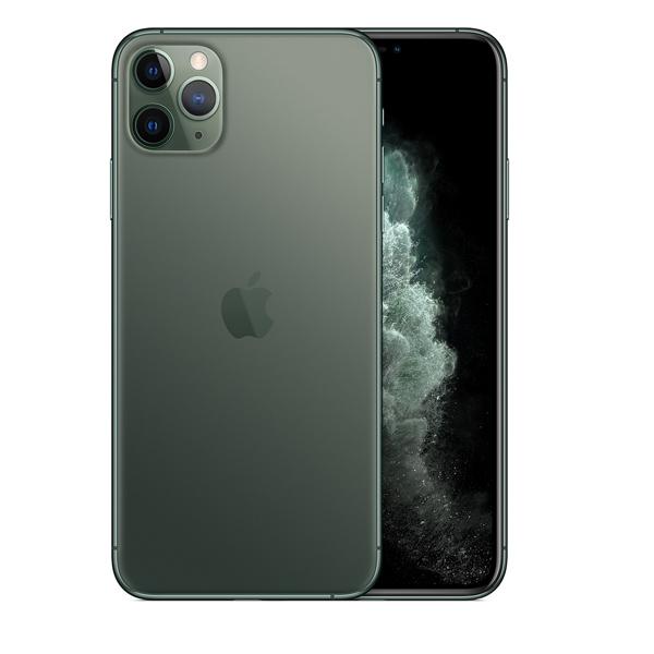 Apple iPhone 11 Pro Max Dual SIM With FaceTime Midnight Green 256GB 4G LTE - HK Specs (MWF42/HK-EC)