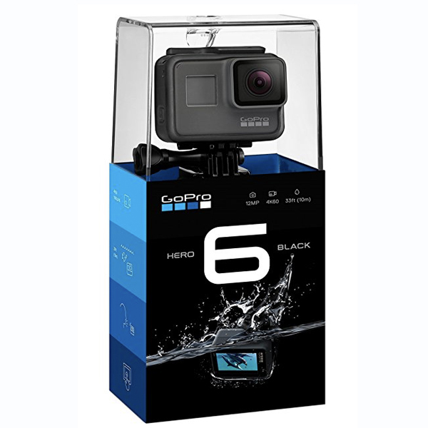 GoPro Hero6 Black - 12 MP, 4K Ultra HD Action Camera (G02CHDHX-601-RW)