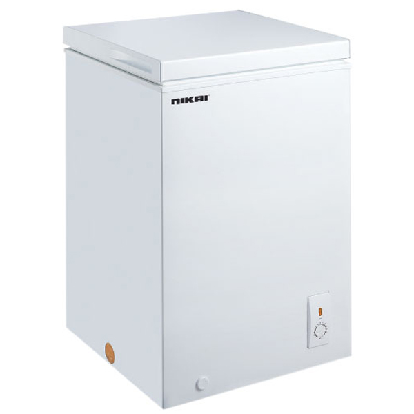 Nikai 200Ltrs Chest Freezer, White (NCF200N5)