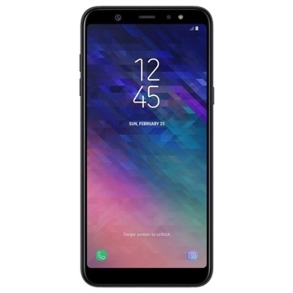 Samsung A6 Plus (2018) 64GB Smartphone, Black (SMA605FW-64GBB)
