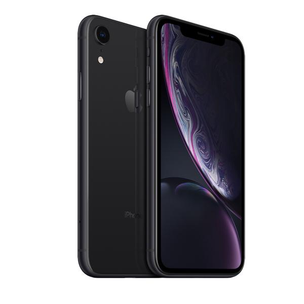 Apple iPhone XR 64GB Smartphone, Black (IPXR64GB-BLK-EC)