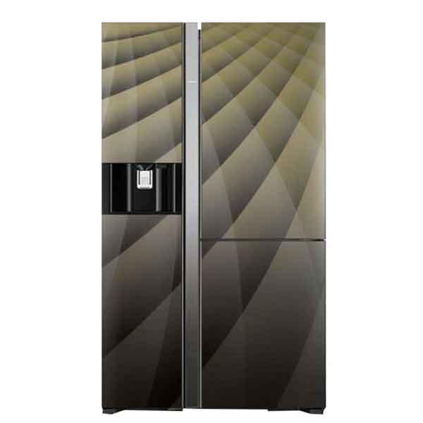 Hitachi 700ltr Side By Side 3-Door Refrigerator (RM700AGPUK4XDIA/MIR)