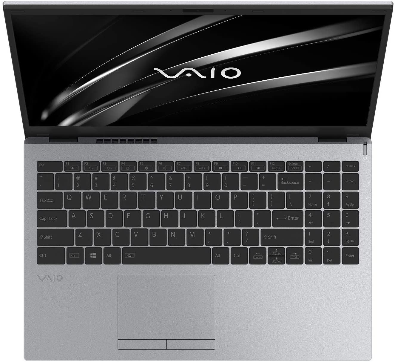 VAIO NoteBook R7-3700U RAM 8GB 512GB SSD Screen 15.6inch Win 10 Home Backlit KBD Silver VAIOR7-E15SL