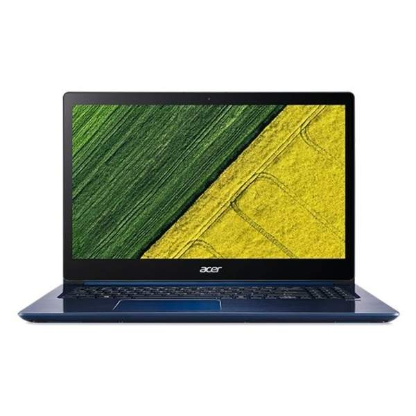 Acer Swift 3 Laptop -Intel Core i7-8550U, 15.6-Inch FHD, 1TB, 8GB, 2GB VGA-MX150, Eng-Arb-Keyboard, Windows 10 Home, Blue (SF315-51G-8117)