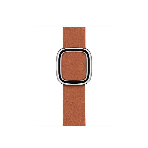 Apple 40mm Saddle Brown Modern Buckle - Medium (MWRD2ZE/A)