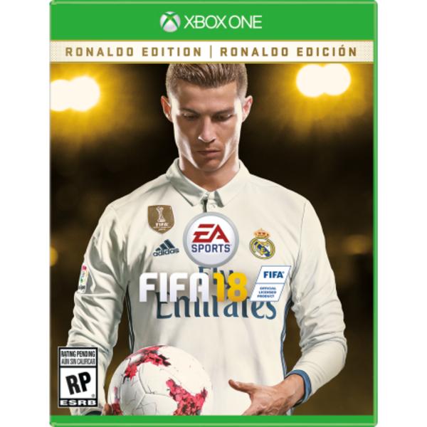 FIFA 18 DELUXE RONALDO EDITION - XBOX (XB18492)