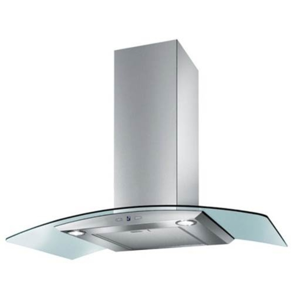 Baumatic 90cm Wall Mounted Cooker Hood (BMECH9WGLSS)