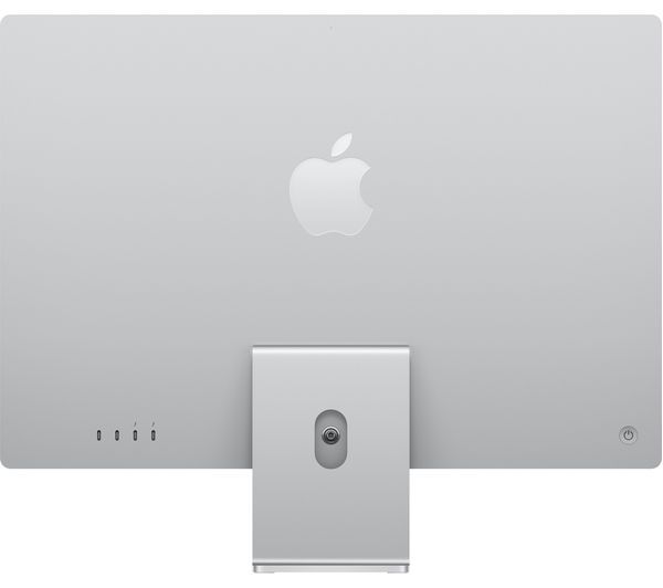 Apple IMAC M1 chip with 8‑core CPU and 8‑core GPU, 512GB 24-inch with Retina 4.5K display MGPD3ZS/A Silver
