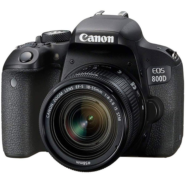 Canon EOS 800D DSLR Camera With 18-55mm IS Lens Kit (EOS800D-EC)