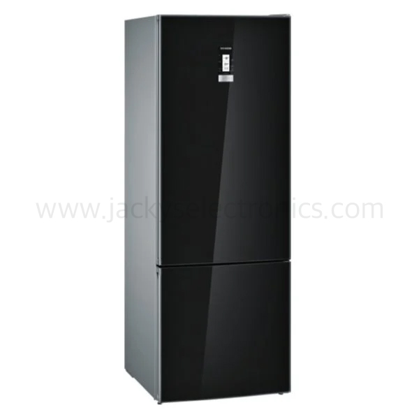 Siemens Bottom Freezer Black Glass Finish 559 Litres (KG56NLB31M)