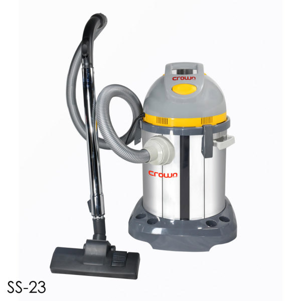 Crown Line Vacuum Cleaner Wet Dry Blow (SS23LB)